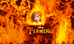 Opposed to Disney Frozen - Disney Flaming by JackFrostOverland