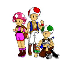 Toad Classes (Ultimate Mushroom) by Jeticus