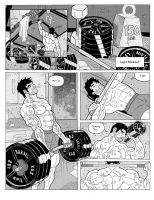 Massive comics pg 3 Complete by BLaKcatINK