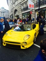 Jaguar XJ220S w/ BBS wheels front by Car-lover33