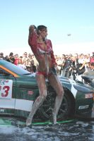 Girl Car Wash 09 by luis75
