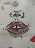 Chapped lips by EvePatrica