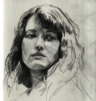 Daily Doodle - Martha Argerich by n0wM3