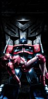 A Dark Day for the Autobots by oo7genie