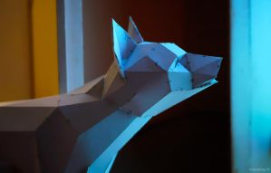 Papercraft - Ben the Wolf 03 by 1-k-0