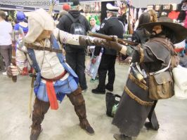 Armageddon Expo 2012 - Assassin's Creed III by fulldancer-alchemist