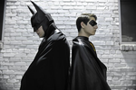 Batman and Robin by arivin923