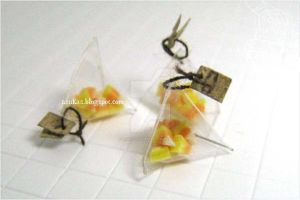 1:12 Candy Corn in plastic pack by asuka-sakumo