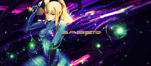 Zero Suit Samus Aran Signature by TechnoEnergy279