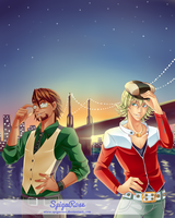 Tiger And Bunny by SpigaRose