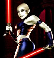 Asajj Ventress by Irishmile