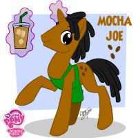 My Little Pony: Mocha Joe by Aeolus06