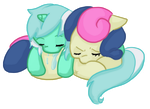 more lyra n bonbon by Cloverminto