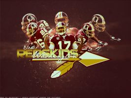 Washington Redskins by K1lluminati