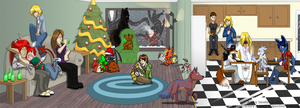 Christmas party 2012 by Songficcer