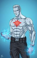 Captain Atom (Earth-27) commission by phil-cho