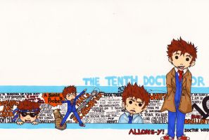 Tenth Doctor wallpaper : Allons-y! by WhatItMeansToBeHuman