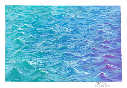 Water and Wave | Nature by J-Ssi