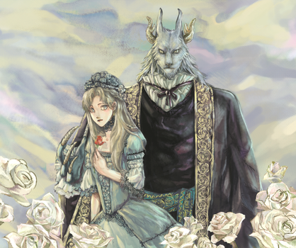 Beauty and the Beast by eryuan