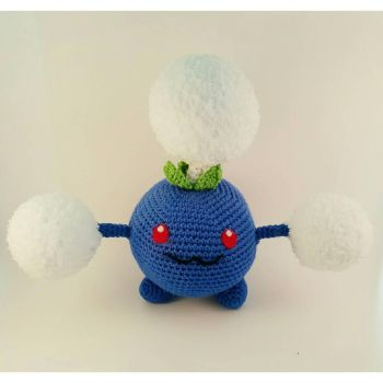 Crochet Jumpluff by bekichat