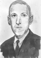 H P Lovecraft by amybalot