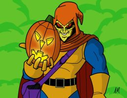 Hobgoblin from spider man animated series by Amish56