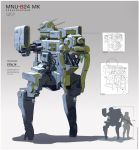 MNU B24MK Mech Concept by WarrGon
