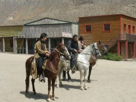 Western country Riders by Nestaman