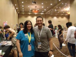 2nd Pic of Bryce Papenbrook and I- Colossalcon by albertxlailaxx