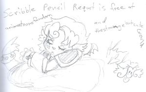 Scribble requst animetoons by Kittychan2005