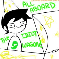 All Aboard the Idiot Wagon by Tanakawa