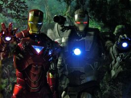 Iron Man 2 - Brothers in Arms by Riebeck