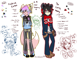 AA: 2nd and 3rd character fleshing out by RosieSakura
