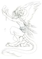 Broken Hope - Lineart by Tigryph