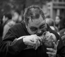 Hungry Zombie by Jack-Nobre