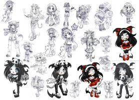 Gaiaonline commissions 2008 by Keigankun