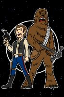 han and chewie update by AlanSchell