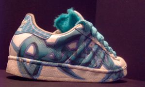 customised sneakers 2 by lyns