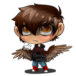 Angry lil blind burdy by Ch4rm3d