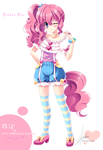 [MLP]Pinkie Pie of moe anthropomorphism by SakuranoRuu
