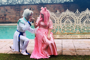 Helios and Chibiusa, Danza con me by LaurelinAureo