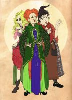 HP: The Sanderson Sisters by JaDisArt