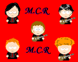 Old Style MCR South Park by elbos