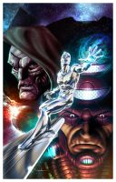 Silver Surfer by Valzonline