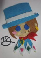 Trucy Wright Brooch by 402ShionS3