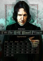 Geek Calendar 2014: September by SceithAilm