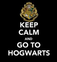 Keep Calm and Go To Hogwarts by ZoeyRedbirdHON