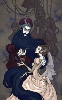 Bluebeard by IrenHorrors