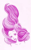 mermaid's hair by ThEsIlKe
