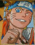 Naruto Face - Aprox 25h work by Qupiiid